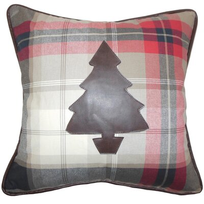 Holiday Christmas Tree Throw Pillow