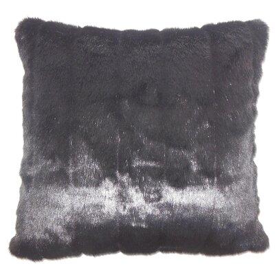 Valeska Faux Fur Bedding Sham Size: King