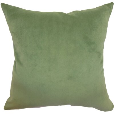 Generys Plain Velvet Throw Pillow Size: 20 x 20