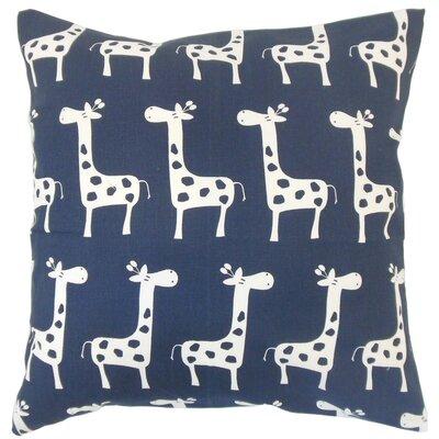 Juhani Graphic Cotton Throw Pillow Size: 22 x 22