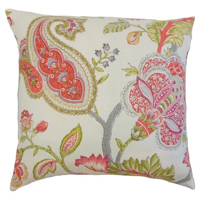 Janne Floral Bedding Sham Size: King