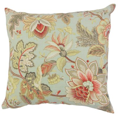Filipa Floral Bedding Sham Size: Queen