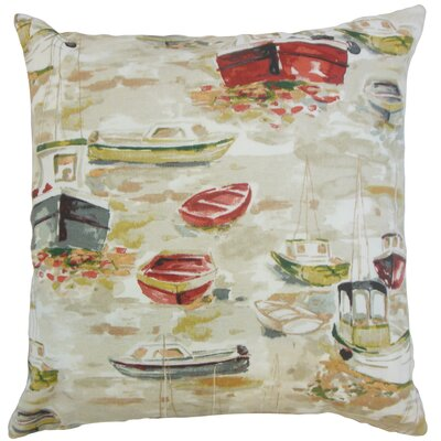 Iara Outdoor Throw Pillow Color: Multi, Size: 18 x 18