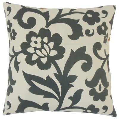 Fisseha Throw Pillow Color: Dove, Size: 18 x 18