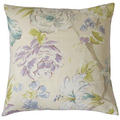 Niahtosa Floral Bedding Sham Size: Euro