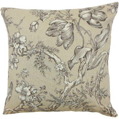 Blair Floral Bedding Sham Size: Euro