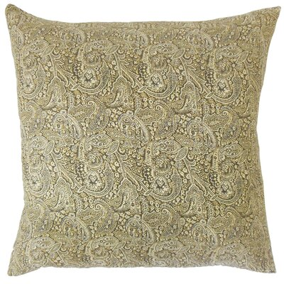Eara Paisley Cotton Throw Pillow Size: 20 x 20