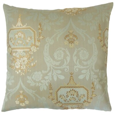Nathifa Damask Throw Pillow Size: 18 x 18