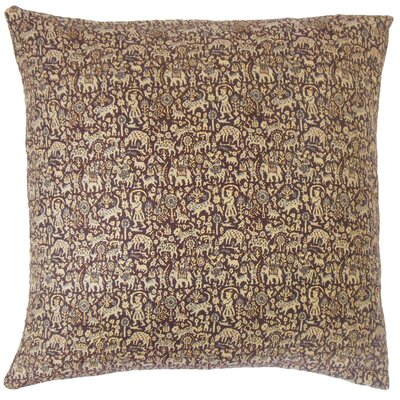 Fraley Graphic Cotton Throw Pillow Size: 18