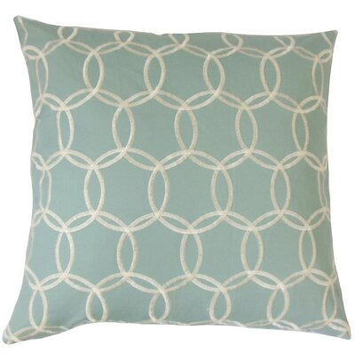 Capucine Geometric Bedding Sham Size: King