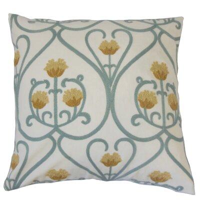 Drucilla Floral Bedding Sham Size: Queen