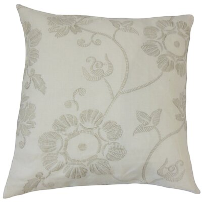 Kaywar Floral Cotton Throw Pillow Size: 18 x 18