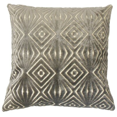 Oresthes Velvet Throw Pillow Size: 24 x 24