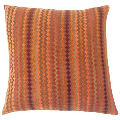 Kawena Geometric Bedding Sham Size: Queen, Color: Amber