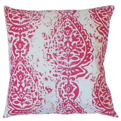 Yordana Ikat Cotton Throw Pillow Size: 22 x 22