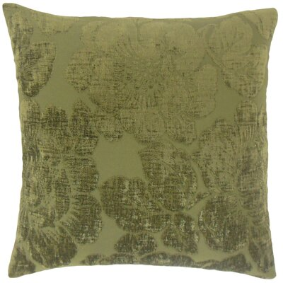 Sarafina Throw Pillow Color: Jade, Size: 18 x 18