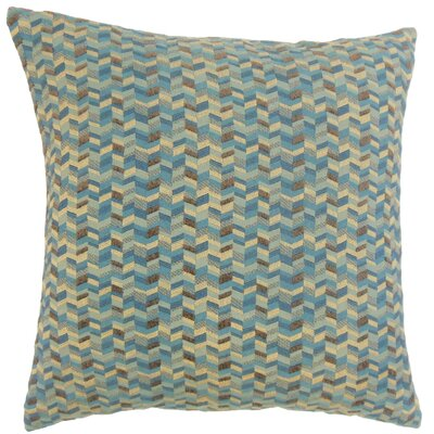 Bloem Chevron Throw Pillow Cover Size: 20 x 20, Color: Marina