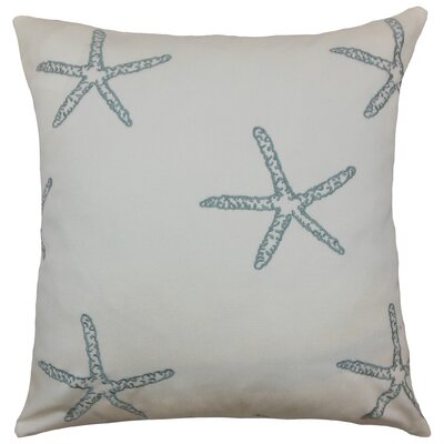 Cilla Coastal Throw Pillow Size: 18 x 18