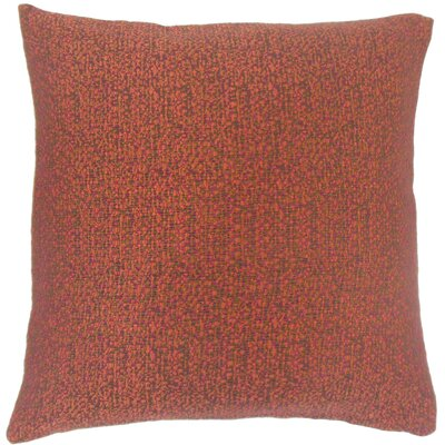 Grisel Woven Throw Pillow Color: Fiesta, Size: 18 x 18