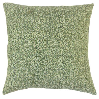 Grisel Woven Throw Pillow Color: Rickey, Size: 18 x 18