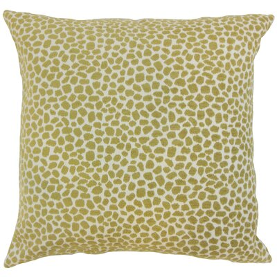 Wihe Animal Print Bedding Sham Color: Lichen, Size: Euro