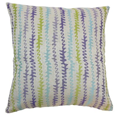 Malu Zigzag Bedding Sham Size: Queen, Color: Kismet