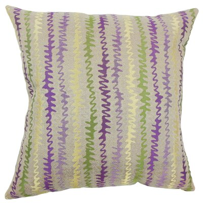 Malu Zigzag Bedding Sham Size: Queen, Color: Orchid
