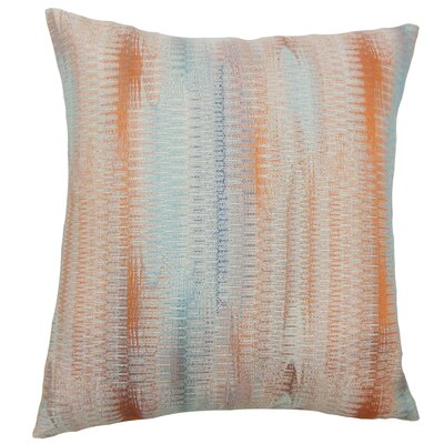 Ngozi Throw Pillow Color: Harvest, Size: 18 x 18