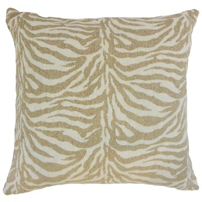 Ksenia Animal Print Bedding Sham Size: Euro, Color: Siberian
