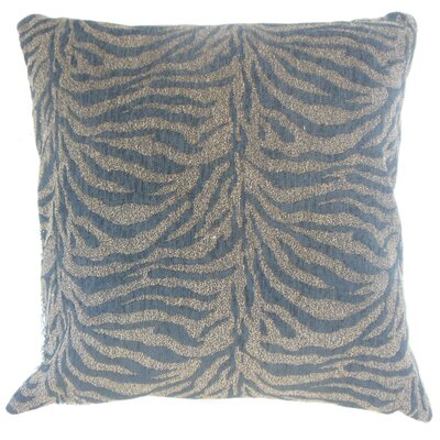 Ksenia Animal Print Throw Pillow Cover Size: 18 x 18, Color: Brindle