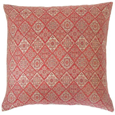 Kafele Geometric Cotton Throw Pillow Size: 18 x 18