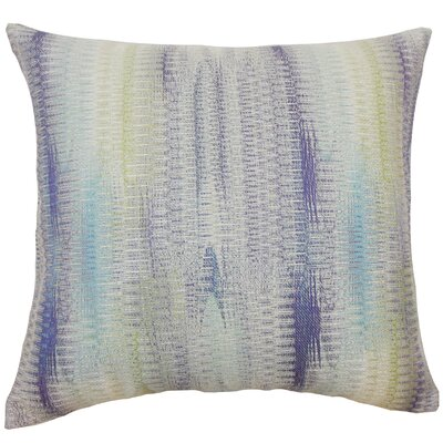 Ngozi Throw Pillow Color: Kismet, Size: 22 x 22