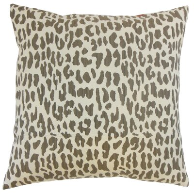Ilandere Animal Print Throw Pillow Size: 18 x 18