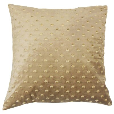 Umatilla Solid Velvet Throw Pillow Size: 18 x 18
