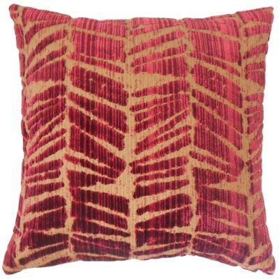 Vyomini Geometric Cotton Throw Pillow Size: 18 x 18