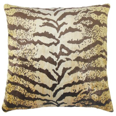 Weibke Cotton Throw Pillow Size: 18 x 18