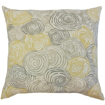 Blakesley Linen Throw Pillow Color: Beach, Size: 18 x 18