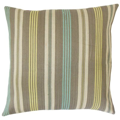 Magaly Stripes Throw Pillow Size: 18 x 18
