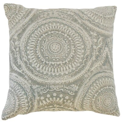 Chione Graphic Throw Pillow Cover Size: 18 x 18, Color: Driftwood