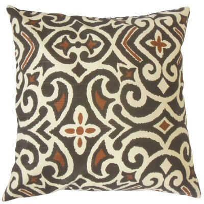 Caraf Damask Bedding Sham Size: Queen, Color: Terrain