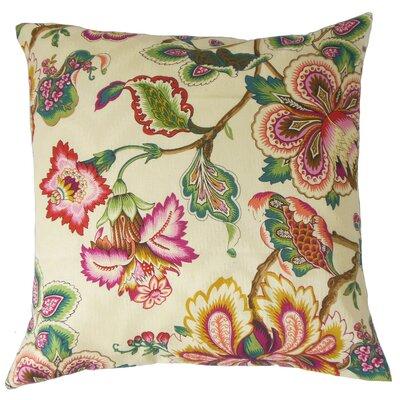 Odonna Floral Bedding Sham Size: Euro