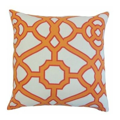 Umut Geometric Outdoor Throw Pillow Size: 18 x 18