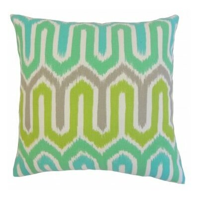 Cahya Geometric Outdoor Throw Pillow Size: 18 x 18
