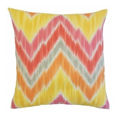 Walta Outdoor Throw Pillow Size: 24 x 24