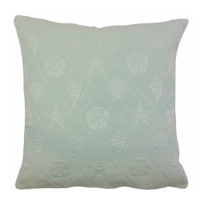 Naeva Outdoor Throw Pillow Color: Baltic, Size: 18 x 18