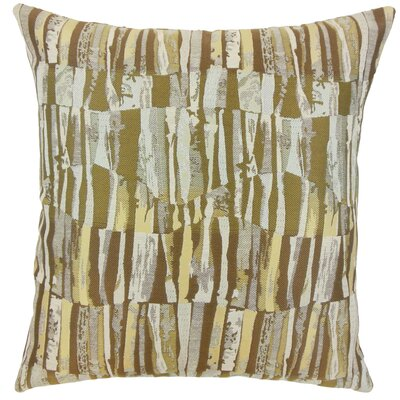 Cali Graphic Throw Pillow Cover Color: Golden Rod
