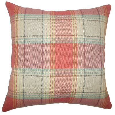 Cagney Plaid Bedding Sham Size: Euro