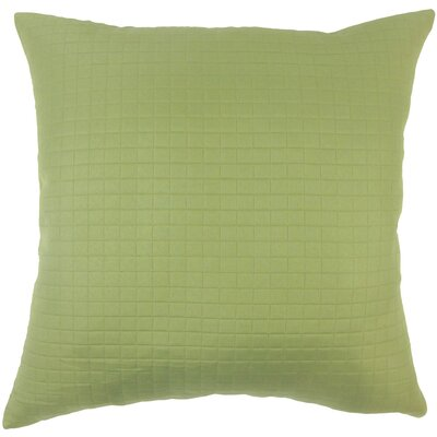 Spruce Solid Throw Pillow Size: 18 X 18