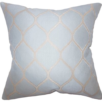 Trudy Geometric Cotton Throw Pillow Size: 20 X 20