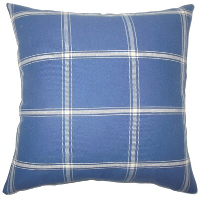 Leonard Cotton Throw Pillow Size: 18 x 18